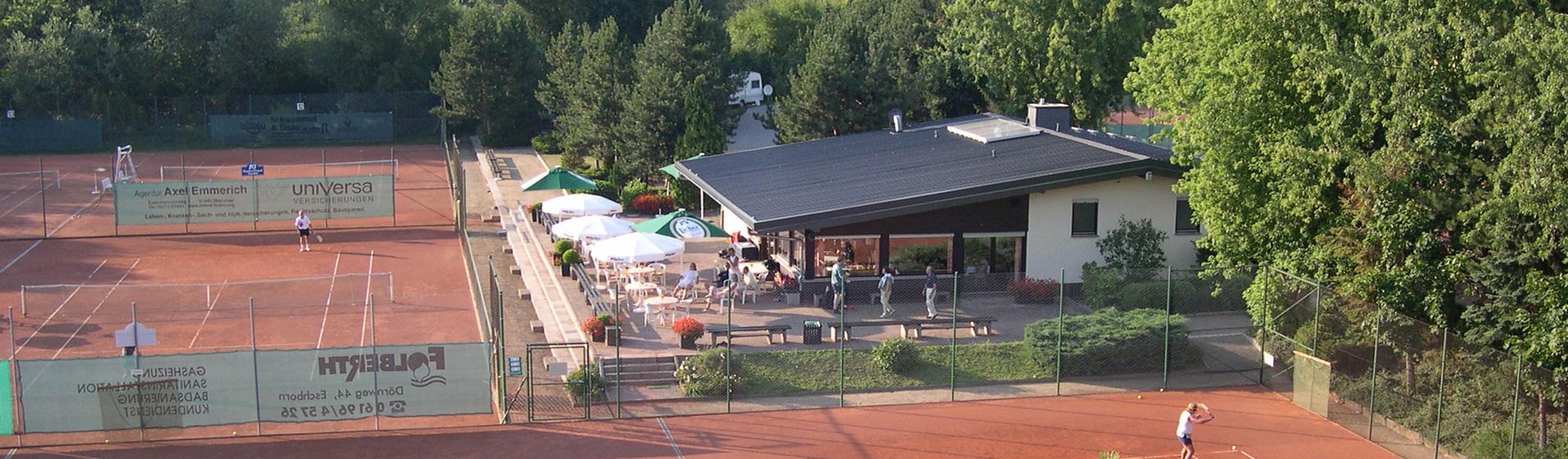 Clubhaus Außenansicht